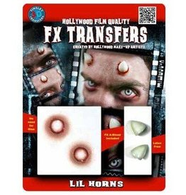 TINSLEY PROTHESE FX TRANSFERS - LIL HORNS