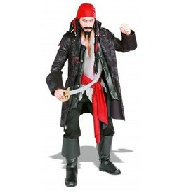 RUBIES COSTUME ADULTE CAPTAINE PIRATE -STD