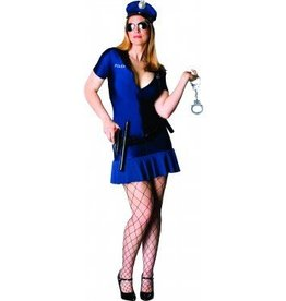 RUBIES COSTUME OFFICER FRISKY ADULT - PLUS SIZE