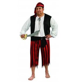 RUBIES COSTUME PIRATE ADULT - PLUS SIZE
