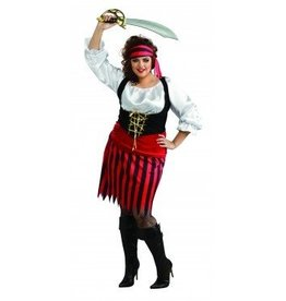 RUBIES COSTUME PIRATE WOMAN ADULT - PLUS SIZE