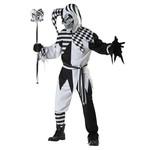California Costumes COSTUME JESTER BLACK AND WHITE