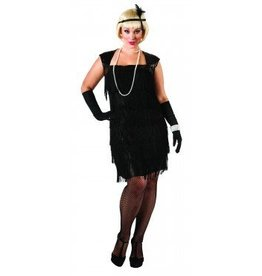RUBIES COSTUME ADULT FLAPPER - PLUS SIZE