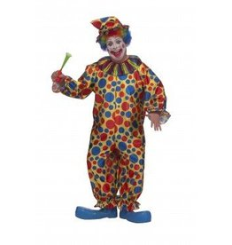RUBIES COSTUME CLOWN ADULT - PLUS SIZE 1X