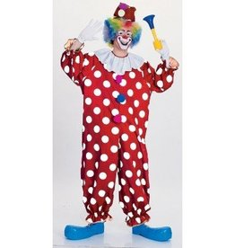 RUBIES COSTUME ADULTE CLOWN A POIS - STD