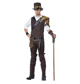California Costumes COSTUME ADULTE AVENTURIER STEAMPUNK