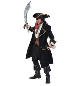 California Costumes COSTUME ADULTE CAPITAINE PIRATE DELUXE