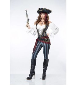 California Costumes COSTUME ADULTE PIRATE IMPRUDENTE