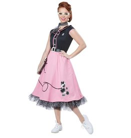California Costumes COSTUME 50'S SWEETHEART