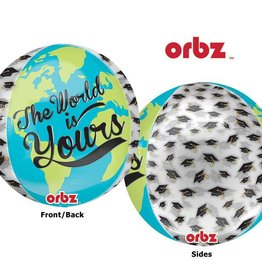 Anagram BALLON ORBZ GRADUATION: THE WORLD IS YOURS