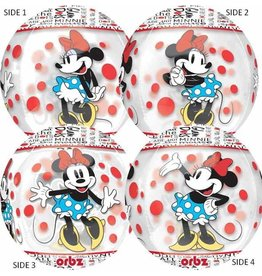 Qualatex BALLON ORBZ MINNIE MOUSE