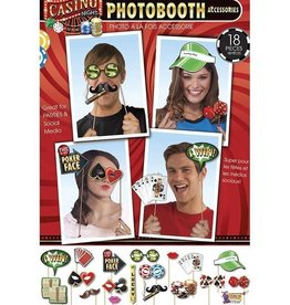 Forum Novelty ACCESSOIRES PHOTOBOOTH - CASINO