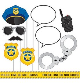 Creative Converting PHOTO PROPS - POLICE PARTY