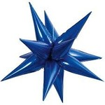Unique BALLON MYLAR À L'AIR: ÉTOILE EXPLOSIVE BLEU ROYAL 40'' (STAR-BURST)