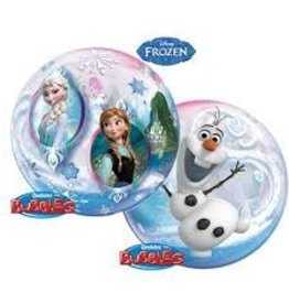 Qualatex BALLON BUBBLES 22PO - LA REINE DES NEIGES