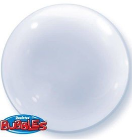 "Qualatex DECO BUBBLE 20"" CLEAR"