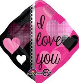 Anagram *BALLON MYLAR '' I LOVE YOU''