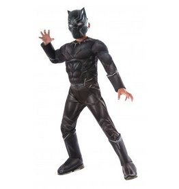 RUBIES COSTUME BLACK PANTHER DELUXE CHILD