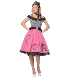 California Costumes COSTUME SWEETHEART 50S