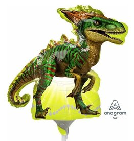 Anagram BALLON MYLAR MINI SHAPE - RAPTOR (JURASSIC WORLD)