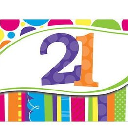 Creative Converting INVITATIONS 21 ANS (8)