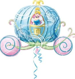 Anagram BALLON MYLAR SUPERSHAPE - CENDRILLON ET SON CAROSSE