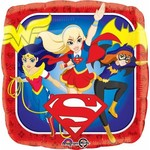 Anagram BALLON MYLAR 18PO - DC SUPERHERO GIRLS