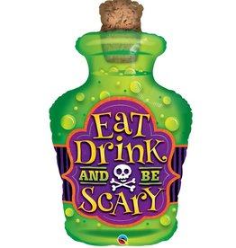 Qualatex BALLON MYLAR SUPERSHAPE - SCARY DRINK