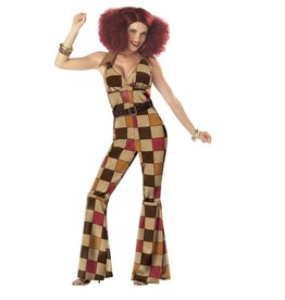 California Costumes *COSTUME ADULTE DISCO BOOGIE BABE