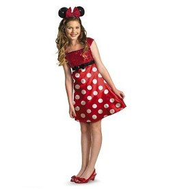 Disguise COSTUME ENFANT ROBE MINNIE MOUSE ROUGE