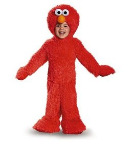 Disguise COSTUME BAMBIN ELMO PELUCHE EXTRA DELUXE