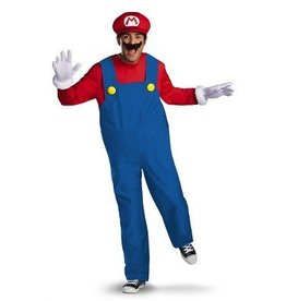 Disguise COSTUME ADULTE MARIO BROS. DELUXE