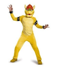 Disguise COSTUME BOWSER DELUXE CHILD