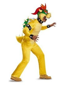 Disguise COSTUME ADULTE BOWSER DELUXE