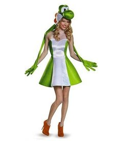 Disguise COSTUME ADULTE YOSHI POUR FEMME