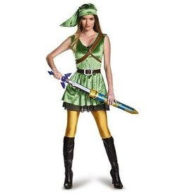 Disguise COSTUME LINK FOR WOMAN - ZELDA