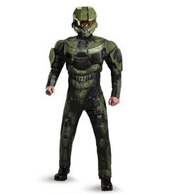 Disguise COSTUME MASTER CHIEF MUSCLE DELUXE