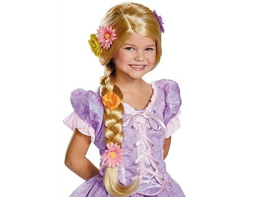 Disguise PERRUQUE ENFANT RAIPONCE ULTRA PRESTIGE