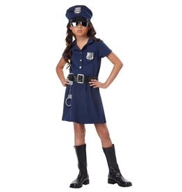 California Costumes COSTUME CHILD POLICE