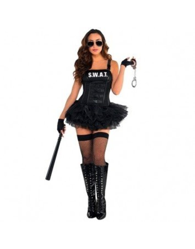 Amscan COSTUME ADULTE EQUIPE SWAT SEXY