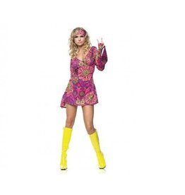 Leg Avenue COSTUME RETRO GO GO DRESS