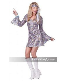 California Costumes COSTUME SANSATION DISCO DRESS