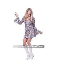 California Costumes COSTUME SANSATION DISCO DRESS