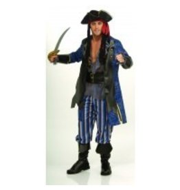 RUBIES COSTUME CAPITAIN PIRATE ADULT