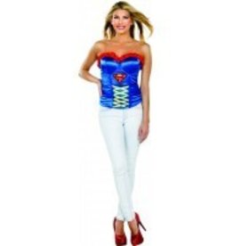 RUBIES CORSET ADULTE SUPERGIRL