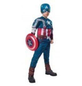 RUBIES COSTUME CAPITAIN AMERICA MUSCLE RETRO DELUXE