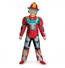 Disguise COSTUME HEATWAVE RESCUE BOT MUSCLE