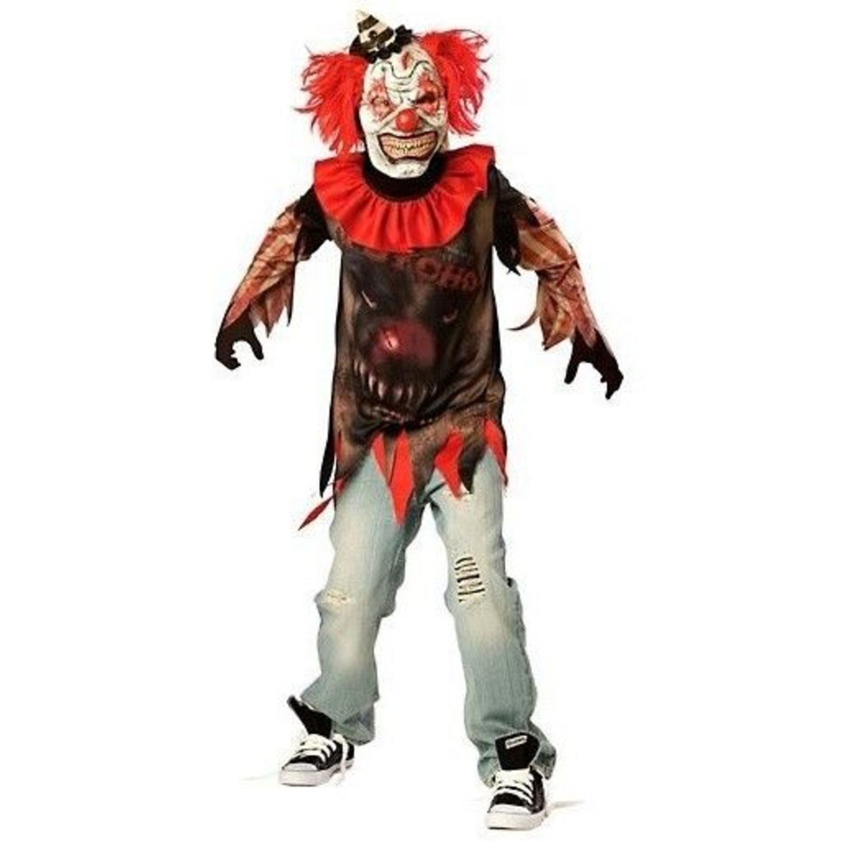 Amscan COSTUME CLOWN PSYCHOPATHE