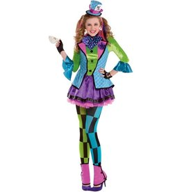 Amscan COSTUME CRAZY TEENAGER MAD HATTER