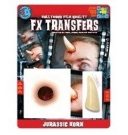 TINSLEY PROTHESE FX TRANSFERS - JURASSIC HORN